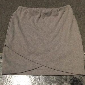 Women's Grey Skirt
